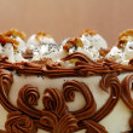 Birthday cake — Stock Photo #1029930