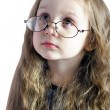 Royalty-Free Stock Photo: Girl with glasses