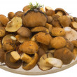 Royalty-Free Stock Photo: The mushrooms in the dish.
