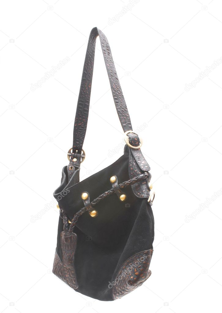 Black handbags on a white background.                    — Stock Photo #1047801