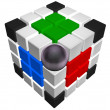 Royalty-Free Stock Photo: Cube