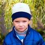 Junge Porträt — Stockfoto