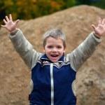 Little boy screaming — Stock Photo