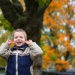 Little boy screaming — Stock Photo