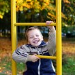 The cheerful boy - Stock Photo