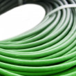Hank of a green network cable — Stock Photo #1024970