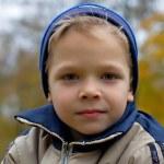 Boy in autumn — Stock Photo #1025118