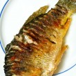 Stock Photo: Fried fish
