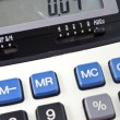 Stock Photo: Business calculator