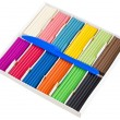 Stock Photo: Color plasticine set