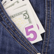 Stock Photo: Pocket Money