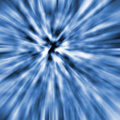 Blue and White Explosion — Stock Photo