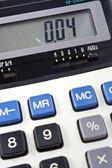Business calculator — Stock Photo