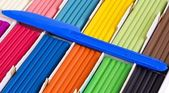 Color plasticine set — Stock Photo