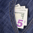 pocket money — Stock Photo