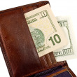 Stock Photo: Leather Wallet