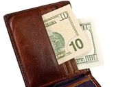 Leather Wallet — Stock Photo