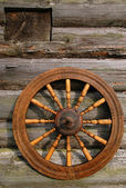 Hand Spinning Wheel — Stock Photo