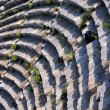 Ephesus Theater Fragment - Stock Photo