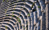 Ephesus Theater Fragment — ストック写真
