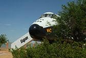 Russian Buran shuttle — Stock Photo