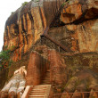 Stock Photo: Lion Mountain in Sigiriya