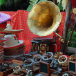 At The Indian Flea Market - Stock Photo