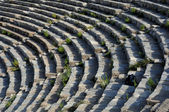 Theater Rows In Ephesus — 图库照片
