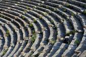 Theater Rows In Ephesus — Stock Photo