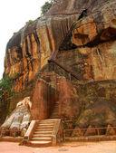 Lion Mountain in Sigiriya — Stock Photo