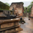 Ruins of Vatadage Temple in Polonnaruwa — 图库照片