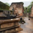 Ruins of Vatadage Temple in Polonnaruwa — Stock fotografie