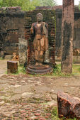 The Statue of Ancient Polonnaruwa — Stock Photo