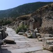 Curetes Street in Ephesus — 图库照片