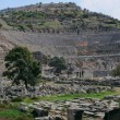 Ancient Theater In Ephesus — Stock Photo