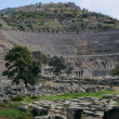 Stock Photo: Ancient Theater In Ephesus