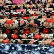 Stock Photo: Variety Of Oriental Fabrics
