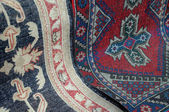 Closeup Image of Oriental Carpets — Stock Photo