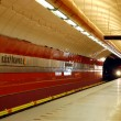 Krizikova Metro Station - Stock Photo