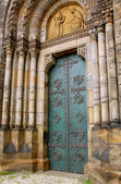 Catholic Church Door — Stock Photo