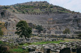 Ancient Theater In Ephesus — Stok fotoğraf