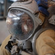 Постер, плакат: US Astronaut MBarratt After Training