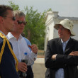 Prince Philippe of Belgium at Baikonur - Stock Photo