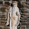 Statue in Wall Niche — Stock Photo #2387054