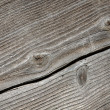 Cracked Wood Plank - Stock Photo