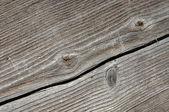 Cracked Wood Plank — Stock Photo