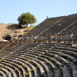 Rows of Ancient Theater in Ephesus — Stock Photo