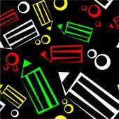 Bezszwowe ozdoba w kolorze 36 — Wektor stockowy