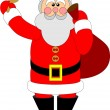 Royalty-Free Stock Vector Image: Santa Claus color 04