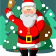 Royalty-Free Stock Vector Image: Santa Claus color 05